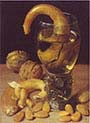 Still-life with Romans-Pretzel and Madeln