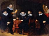 four governors of the arquebusiers civic guard