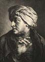 Head of a Man Wearing a Turban