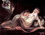 The Incubus Leaving Two Sleeping Women