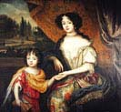 Charles Lennox Duke of Richmond son of Charles II and Louise de Keroualle with his Mother