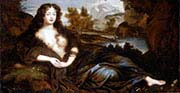 King Charles the second's mistress-Louise de Keroualle as Venus