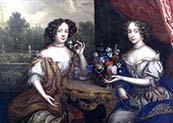 Lady Anne Barrington and Lady Mary Saint John