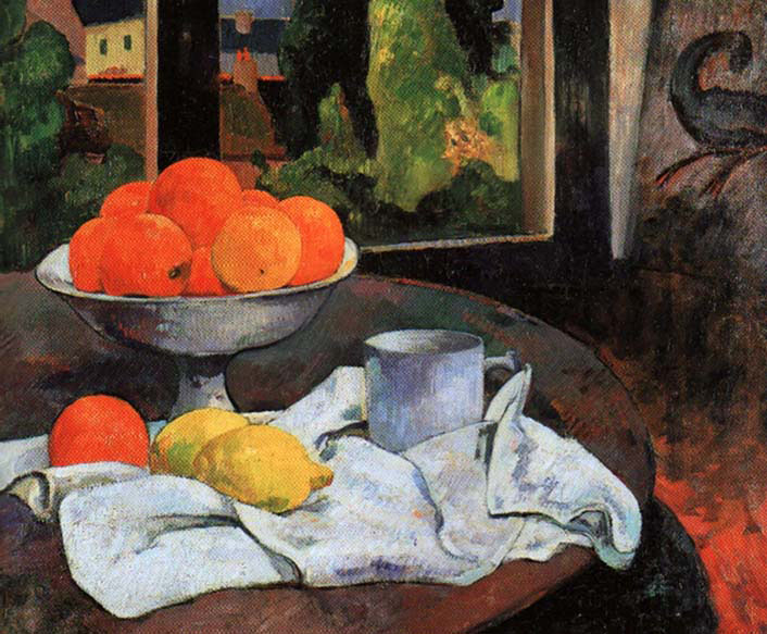 Still-Life with Fruit and Lemons