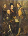 the four brothers of willem one prince of orange