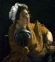 portrait of a young woman as a sibyl#