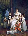 Caroline Bonaparte Queen of Naples and Her Children