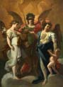 the archangel with saints