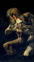 Saturn Devouring one of his Sons