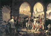 napoleon bonaparte visiting the plague stricken at jaffa