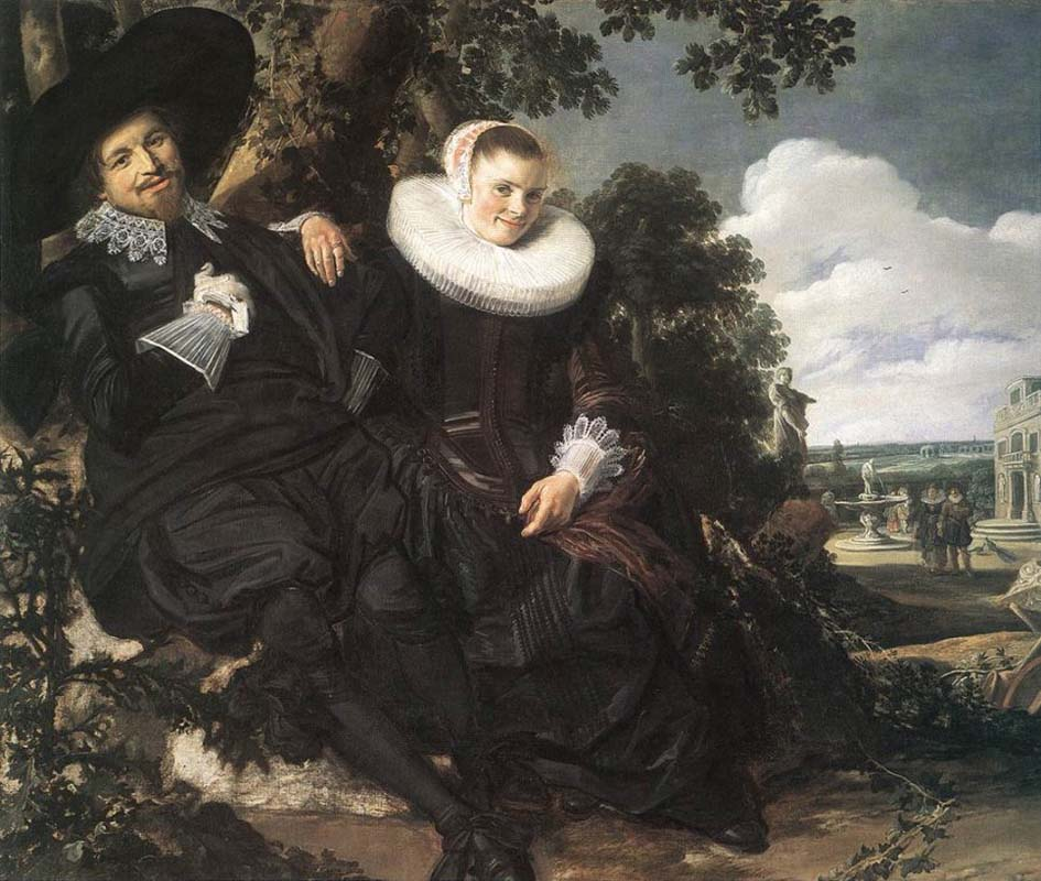 Married couple in a Garden