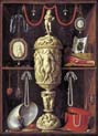 art chamber cabinet with ivory goblet