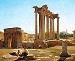 Roman Forum with the Temple of Concordia