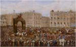 Triumphal Entry of George IV into Dublin 1821