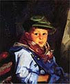 Boy with Green Cap