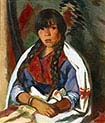 Indian Girl of New Mexico