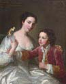 elizabeth hamilton later countess of warwick and her brother william hamilton
