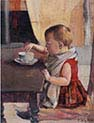 Child at the Table