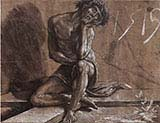 Christ as Man of Sorrows Seated on the Cross