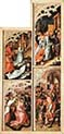 Eight Scenes from the Passion of Christ Left Panel