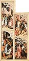 Eight Scenes from the Passion of Christ Right Panel