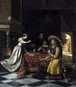Card Players at a Table