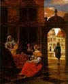 Musical Party in a Courtyard
