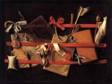 Tromp-l'oeil still life two