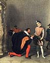 Don Pedro of Toledo Kissing sword of Henri the Fourth