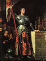 Joan of Arc at the Coronation of Charles seven