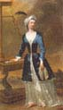 Lady Mary Wortley Montagu Standing by a Clavicytherium