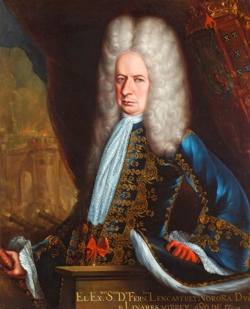 fernando de alencastre first duke of linares