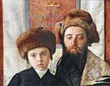 Portrait of a Rabbi with a Young Pupil