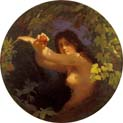 eve with pomegranate