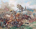 Cherubin Gniewosz in the Battle of Suceava
