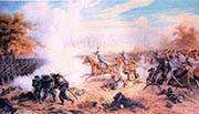 Rodakowski Attacks Italian Bersaglierii During the Battle of Custozza