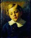 portrait of sergei the artist s son