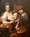The Artist with his Wife and Son