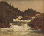 landscape with whitewater