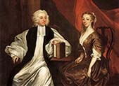 Bishop Robert Clayton and his Wife Katherine