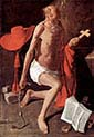 Repentant Saint Jerome with Bishop
