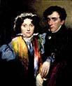 John Gibson Lockhart And Charlotte Sophia Scott