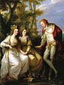 Lady Elizabeth with Georgiana and Georg