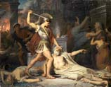 death of priam