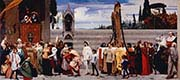Cimabue's Celebrated Madonna is carried in Procession