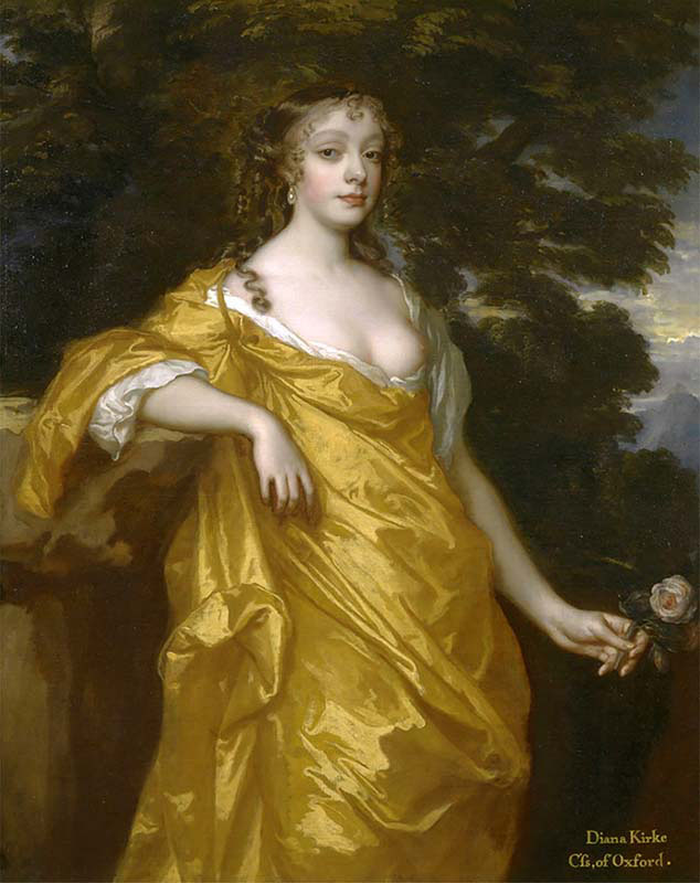 Diana Kirke-Later Countess of Oxford