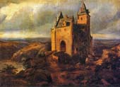 castle in a landscape