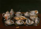 tea set still life