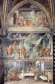 fresco cycle in the prato cathedral view of the right south wall of the main chapel