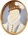 Miniature of Charles Howard-Second Baron of Effington-First Earl of Nottingham